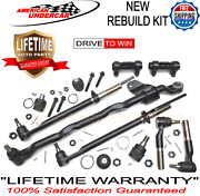 Lifetime 11-16 Ball Joints Center Link Tie Rod Kit Ford F250 F350 Superduty Rwd