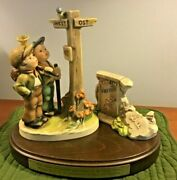 Goebel Hummel 331 Crossroads Military Limited Edition Ramstein Afb Signed 93