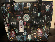 Disney Dooney And Bourke Nwt Haunted Mansion Tote Awesome Placement