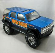 Vintage 1996 Nylint Metro Police Chevy Tahoe 1500 Suv Truck Toy Blue Metal