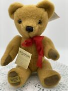 Very Rare Merrythought Pure Virgin Wool Teddy Bear Limited Edition England