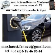 Sound Booster Maxhaust For Others New Electric Cars.8 Sounds Pop Bang From 1250andeuro