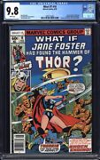 What If 10 Cgc 9.8 1st Jane Foster Thor White Pages 1978 Mcu