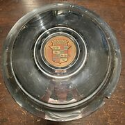 1930and039s-1940and039s Cadillac Series 15 Od Oem Wheel Center Rim Hub Cap Lug Cover W