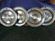 Vintage Buick Hubcaps 14 Wheel Cover Set Of 4