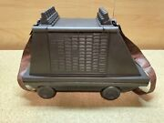 Disney Parks Star Wars Galaxyand039s Edge Mse-6 Mouse Droid Popcorn Bucket W/ Strap