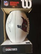 Tom Brady Autographed Buccaneers Authentic Wilson Collectible Football