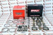 Manley For Supra Twin Turbo 2jzgte W/ 94mm Stroker 3.4l Pistons And Rods - 14027-6
