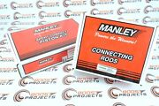 Manley For Supra Twin Turbo 2jzgte 3.0l Pistons And Rods 86mm Bore 101 Cr 14027-6