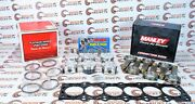 Manley For Supra 2jzgte W/ Toyota Gasket Pistons And Rods And Arp Stud Kit 14027-6