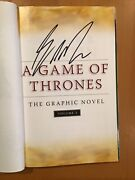 Signed Sketched A Game Of Thrones Gn Volume 2 George Rr Martin Mike S. Miller