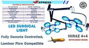 Led Operation Theater Light Examination And Surgical Lamp Twin Ledand039s Ot Light 4+4