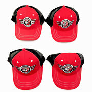 Snap On Tools Rock Nand039 Roll Cab Express Baseball Trucker Hat Cap Adjustable Red