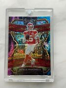 2019 Patrick Mahomes Cosmic Prizm Select Football Card In Perfect Conditionandnbsp