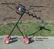 Mobile Electric Post Hole Digger W/6 Auger