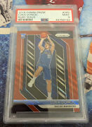 2018-19 Luka Doncic Psa 9 Prizm Ruby Wave Centered Mint Rookie Rc