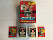 1986 Garbage Pail Kids Series 6 Complete Set + Os6 Box Wax Pack And Wrapper Gpk
