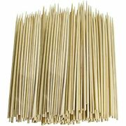 Value Pack Of 600 Thin Bamboo Skewers 6 Inch Garden Andamp Outdoor