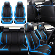 Car Seat Covers Top Pu-leather Universal 5-sits Suv Protectors Cushion Interior