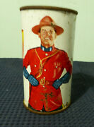 Drewrys Extra Dry Empty Flat Top Can, Mountie