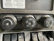 2018 Kenworth T880 Heater And Ac Temp Control 3 Knob 5 Button