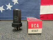 Vintage Rca Vacuum Electron Tube New Old Stock Model 6sg7