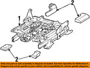 Lincoln Ford Oem 98-02 Town Car Seat Track-track Assembly Xw1z5461711ba