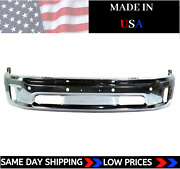 New Usa Made Chrome Front Bumper For 2014-2018 Ram 1500 Ships Today