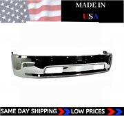 New Usa Made Chrome Front Bumper For 2013-2018 Ram 1500 Ships Today