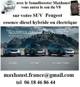 Sound Booster Maxhaust Citroandeumln Peugeot Renault 8 Sounds Pop And Bang From 1250andeuro