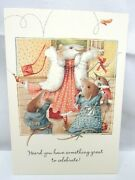 6 Vera The Mouse Hallmark Congratulations Greeting Cards And Envelopes 1997 Lot 2