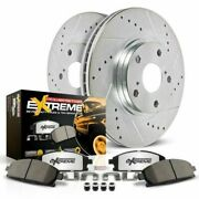 Power Stop Rear 15 Mail In Rebate Z36 Truck And Tow Brake Pad And Rotor Kit K54
