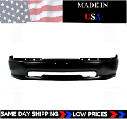 New Usa Made Matte Black Front Bumper For 2009-2012 Ram 1500 Ships Today