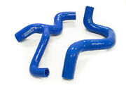 Obx Blue Silicone Radiator Hose Fits 00 To 2004 Ford Focus Zx3 Zx5 2.0l Duratec