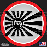 Teq Rising Sun Jdm Japanese Die-cut Decal For All Toyota Lovers