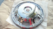 68 1968 Original Cadillac Eldorado Hubcap - Restored And Polished - Great
