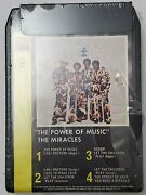 The Miracles The Power Of Music 8 Track Tape 1976 Sealed Motown And Tamla Records