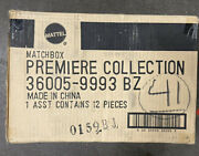 Factory Case Of 12 - Matchbox Premiere Collection 36005-9993bz 12 Toys In Case