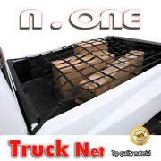 Cargo Net Rear Trunk Tail Gate Storage Carrier Trailer Crew Cab 7.5' Bed Fit Gmc