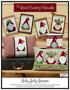 Holly Jolly Gnomes Pattern 4 Gnome Applique Patterns Leanne Anderson 437