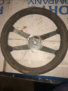 Vintage Superior 500 Performance Steering Wheel 11.5andrdquo 60andrsquos Style 4 Bar