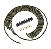1936 Dodge Car And Truck Spark Plug Wires Black And Gold Lacquer Wire Set Mopar