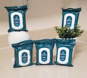 Degree Mens Deodorant Wipes Cool Rush 25 Pre Moistened Towelettes New Lot Of 5
