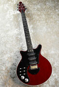 Brian May Guitars Special Antique Cherry Left Hand Electric Guitar From Japan