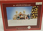 St.nicholas Square Village Nrfb Taking Pictures With Santa Animated 2007