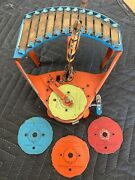 Wolverine Toy Company Zilotone Player With Extra Discs Working Condition