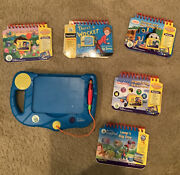 Leap Frog My First Leap Pad With Cartridges And Books Tested/works
