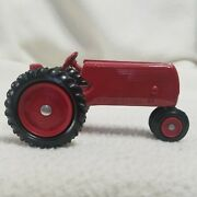 Vintage Toy Tractor Marked 1st Edition Red Diecast Metal 4 X 2 25