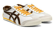 Onitsuka Tiger Mexico 66 Trainers White Pure Bronze Asics Leather Ship World