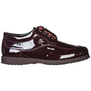 Hogan Lace-up Shoes Women Traditional Hxw00e00010ow0l813 Lampone Leather